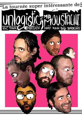 La tournée super intéressante de Unlogistic et Mr Moustache
